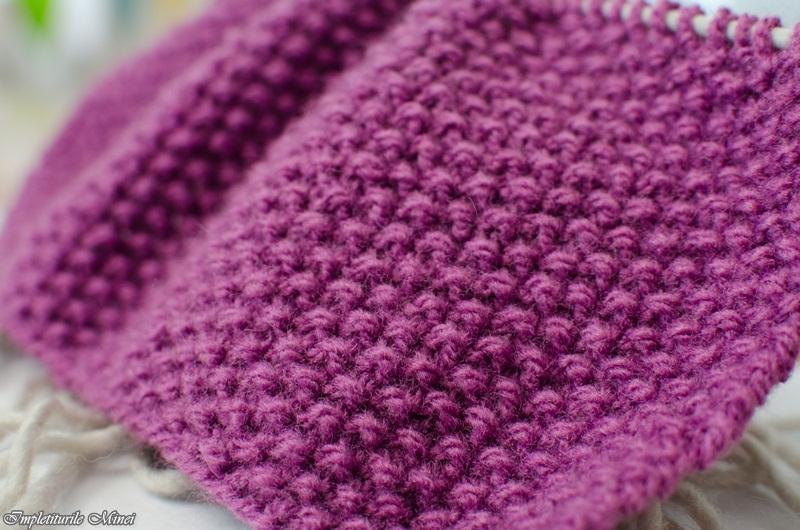 "Modelul de tricotat ""Bob de orez"""