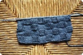 """Modelul de tricotat: """"Tablă deșah"""""""
