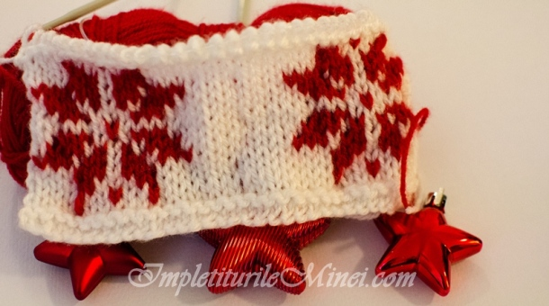 Modelul de tricotat Stea de Crăciun