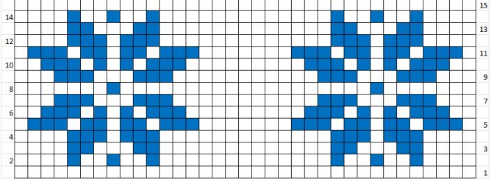 Modelul de tricotat Stea de Craciun