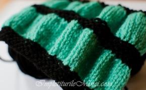 """Modelul de tricotat """"Onduleuri"""""""