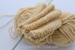 """Modelul de tricotat """"Pliuri"""""""