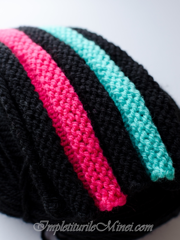 Modelul de tricotat Colacei