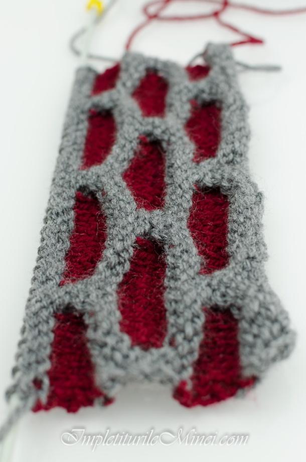 """Modelul de tricotat """"Faguri"""""""